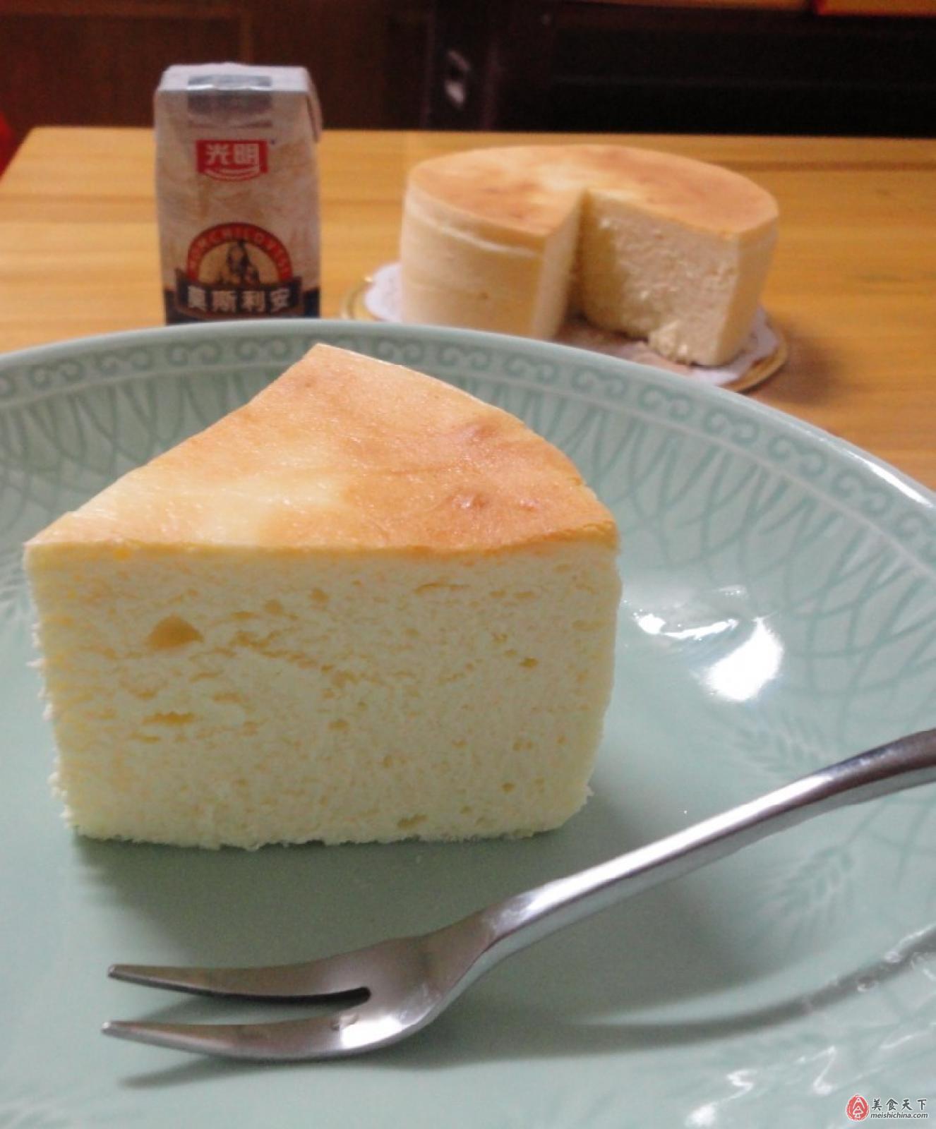絕對驚艷的口感----舒芙蕾輕乳酪蛋糕_舒芙蕾輕乳酪蛋糕_皇后的幸福廚房的日志_美食天下