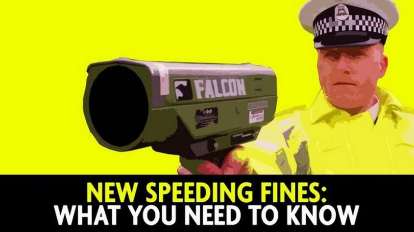 Video thumbnail, New speeding fines. What you need to know