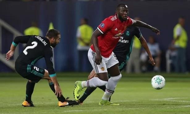 Lukaku in action (Image: John Peters) UEFA super cup