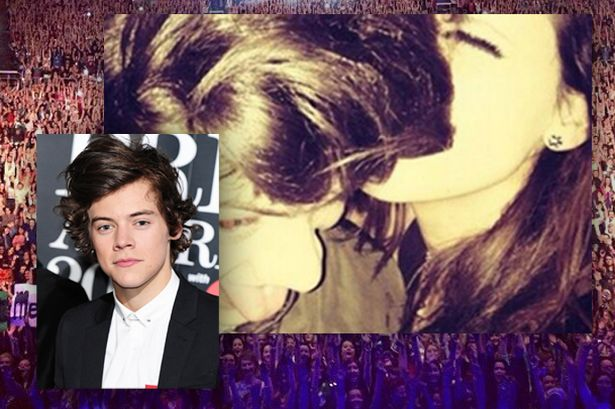 Harry Styles Kisses Fans And Parties With One Direction