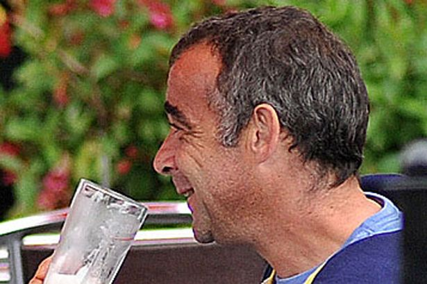 Michael Le Vell in the lake district this week