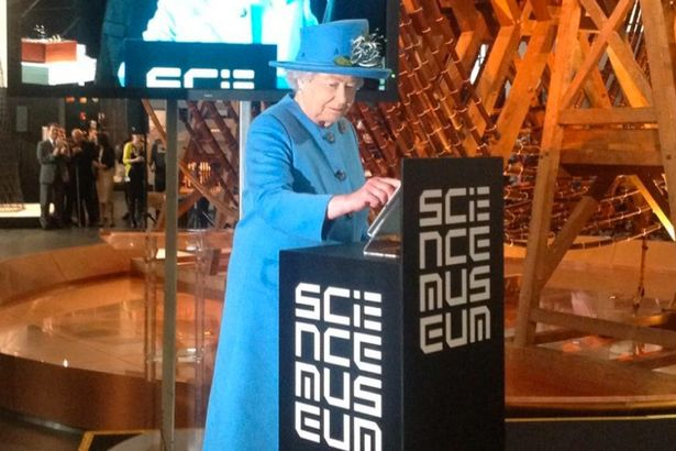 Queen Elizabeth sending her first tweet