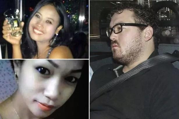 Jesse Lorena (top left), Sumarti Ningsih (bottom left) and Rurik Jutting (right)