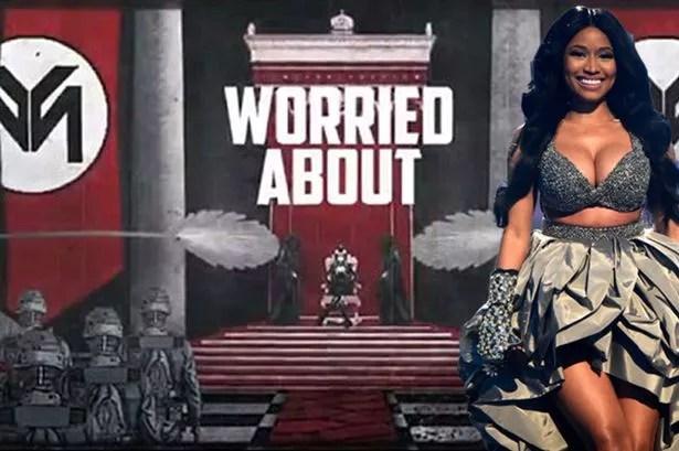 Is Nicki Minaj using nazi imagery in her new video