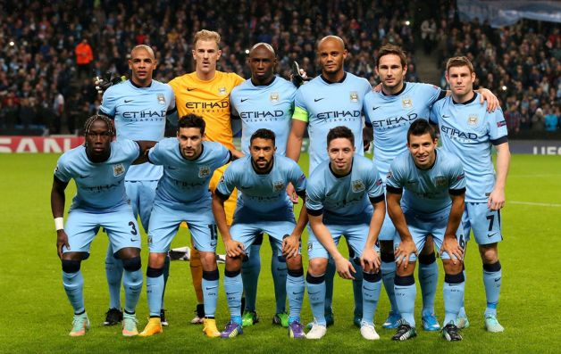 Image result for Manchester City team