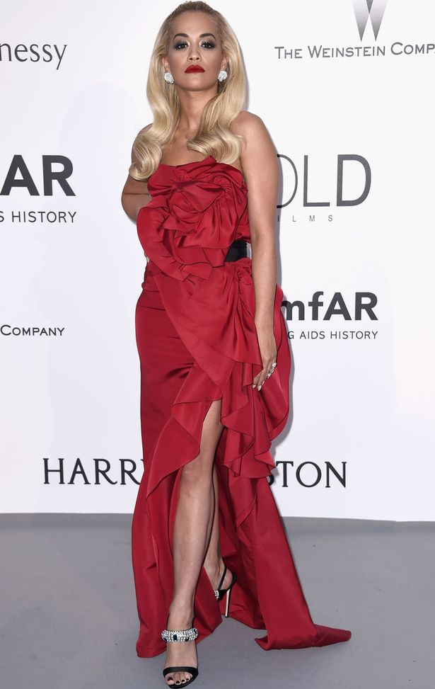 Singer Rita Ora attends amfAR's 22nd Cinema Against AIDS Gala, Presented By Bold Films And Harry Winston at Hotel du Cap-Eden-Roc on May 21, 2015 in Cap d'Antibes, France
