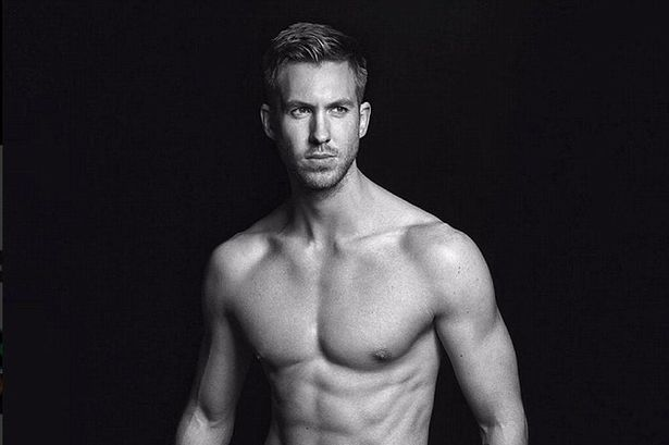 Calvin Harris is already an underwear model for Armani