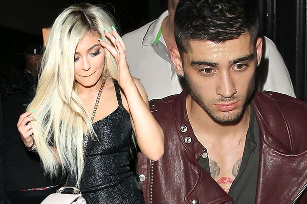 Zayn at Kylie Jenners birthday