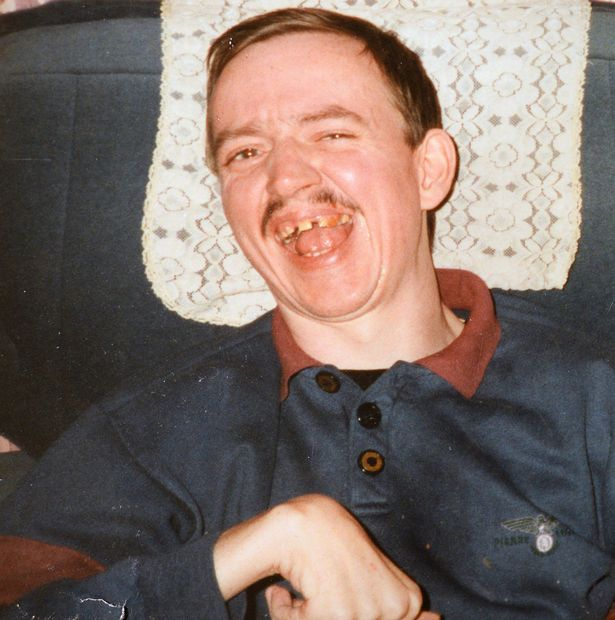 Gary's brother Rob, in 1997