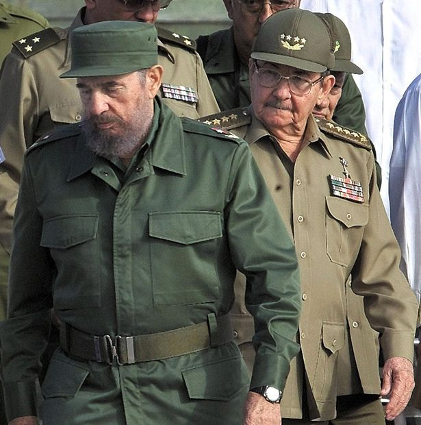 Image result for president fidel castro and brother Raul