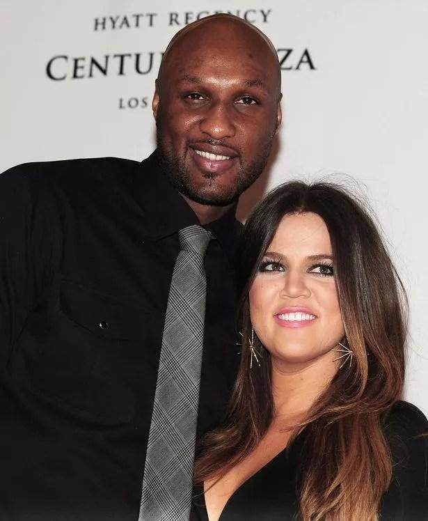Lamar Odom and Khloe Kardashian-Odom