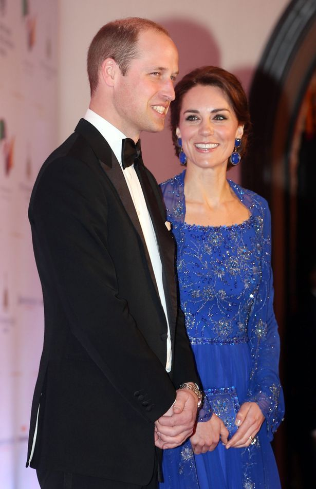Prince William and Kate Middleton looked glamorous for the Bollywood gala