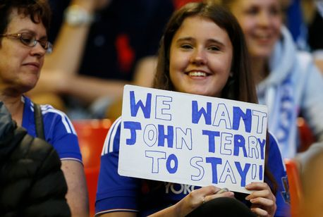 Liverpool-v-Chelsea John Terry signs one-year Chelsea contract extension