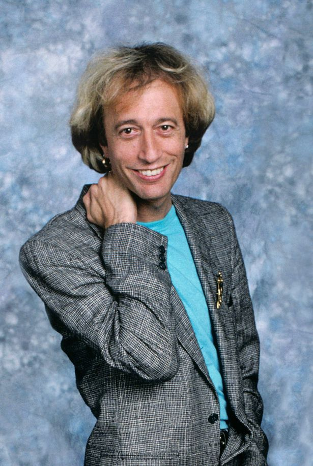 Robin Gibb Robin Gibb Dead Bee Gees Dies Aged 62 After