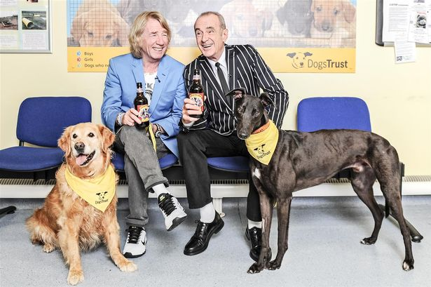 New Status Quo beer to raise pounds for Dogs Trust hounds