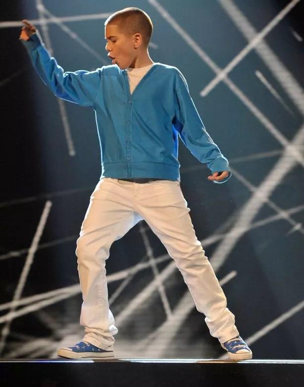 Aidan Davis on Britain's Got Talent in 2009