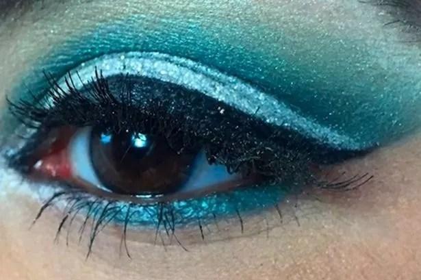 Kardashian eyes final look