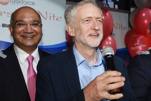 Keith Vaz and Jeremy Corbyn
