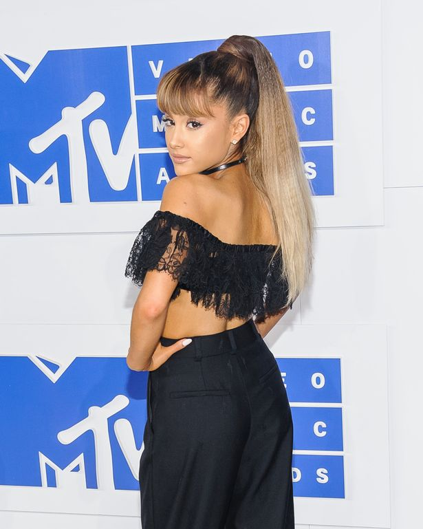 MTV Video Music Awards at Madison Square Garden Featuring: Ariana Grande