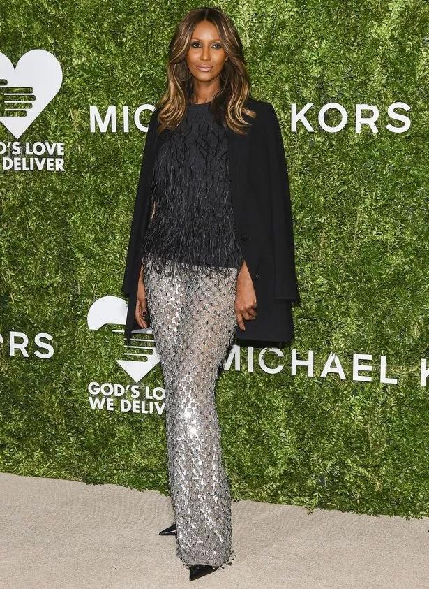 Model Iman attends the 2016 God's Love We Deliver Golden Heart Awards Dinner