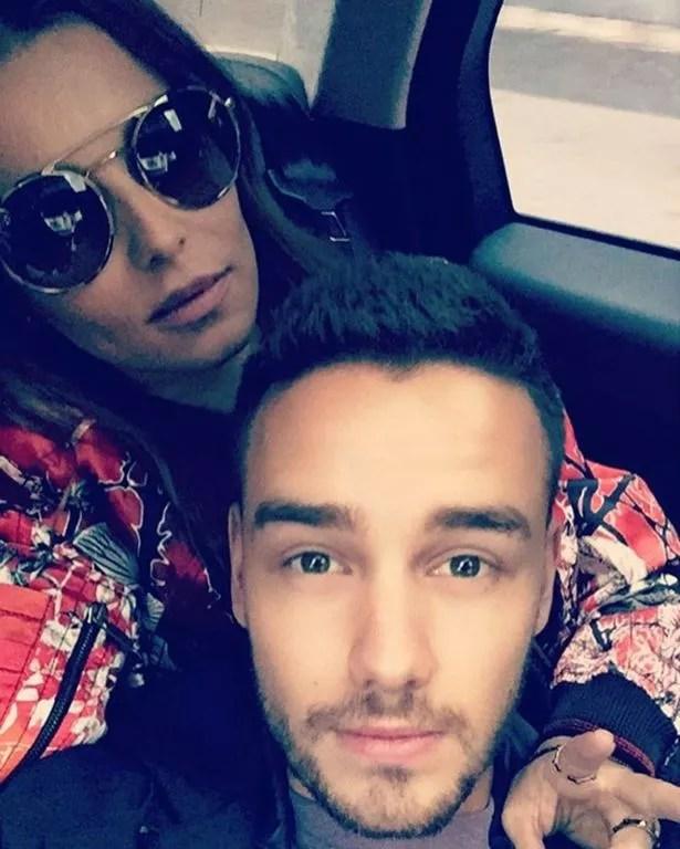 Liam Payne with Cheryl Fernandez Versini
