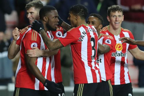 Image result for pic of anichebe scoring against hull city