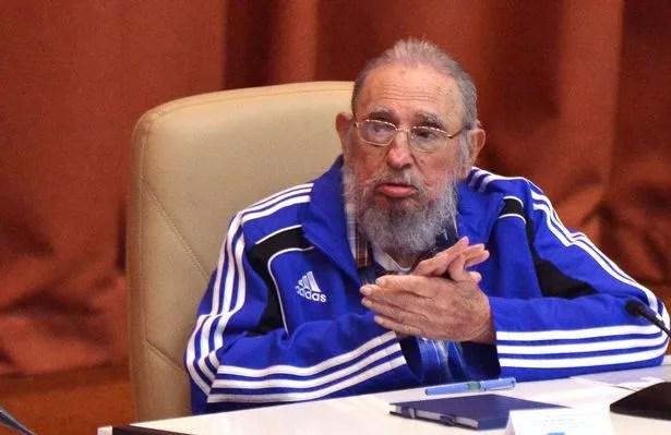 Cuban Former President Fidel Castro