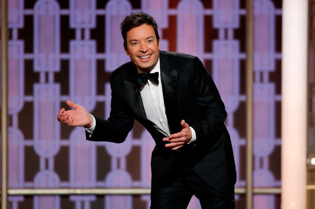 Image result for jimmy fallon golden globes 2017