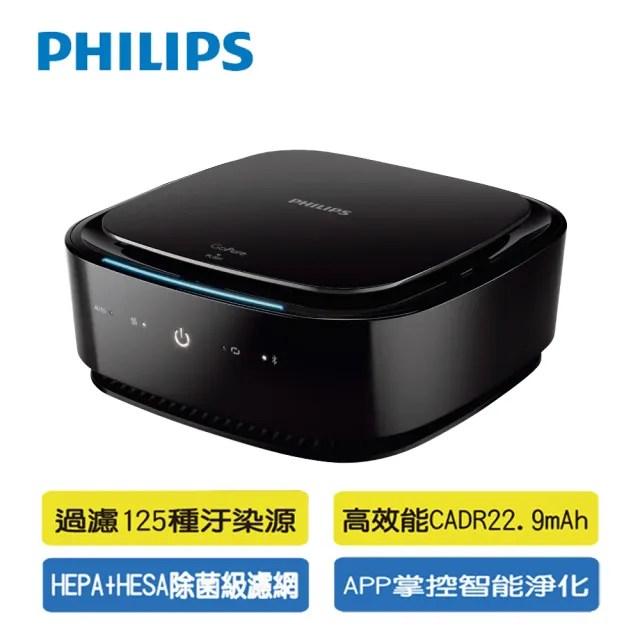 【Philips 飛利浦】PHILIPS 飛利浦APP智能車用除菌空氣清淨機GP7101(GP7101)