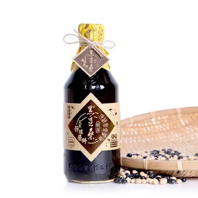 【黑豆桑】天然極品頂級黑金醬油x 1瓶(黑金醬油 550ml)