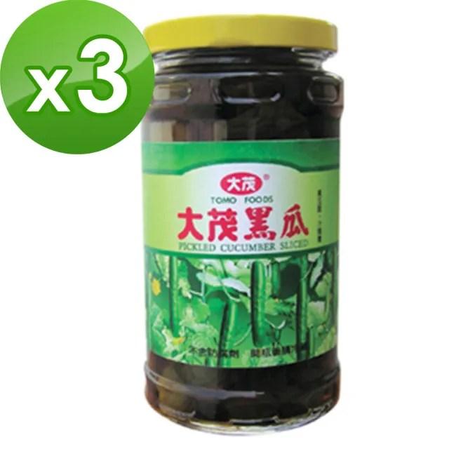 【大茂】大黑瓜375gX3入