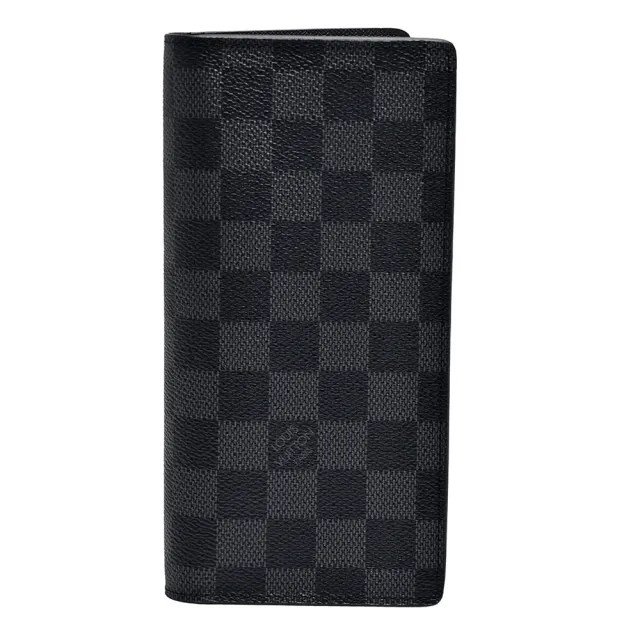 【Louis Vuitton 路易威登】N62665 BRAZZA經典Damier棋盤格摺疊長夾
