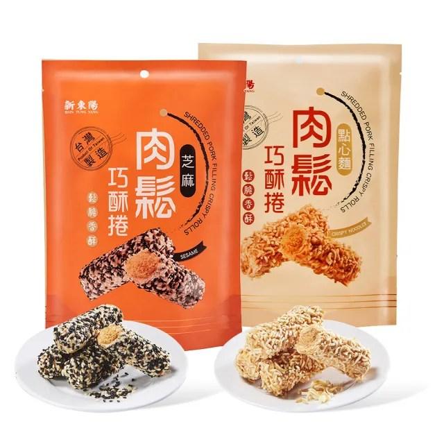 【新東陽】肉鬆巧酥捲130g(芝麻/點心麵)