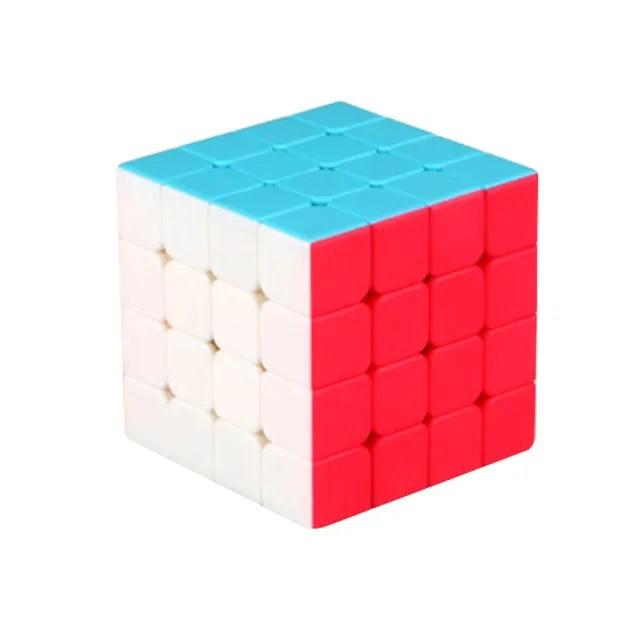 【888ezgo】魔方格四階比賽專用魔術方塊(六色螢光版)(授權)