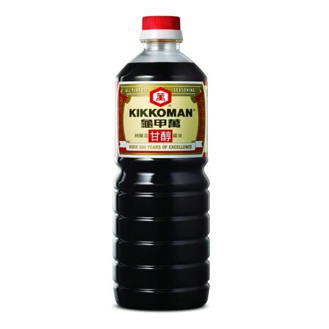 【龜甲萬】龜甲萬甘醇醬油1000ml(非基因改造醬油)