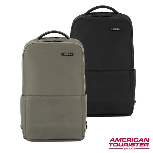 【AT美國旅行者】Rubio簡約多夾層筆電後背包15 多色可選(HL4)
