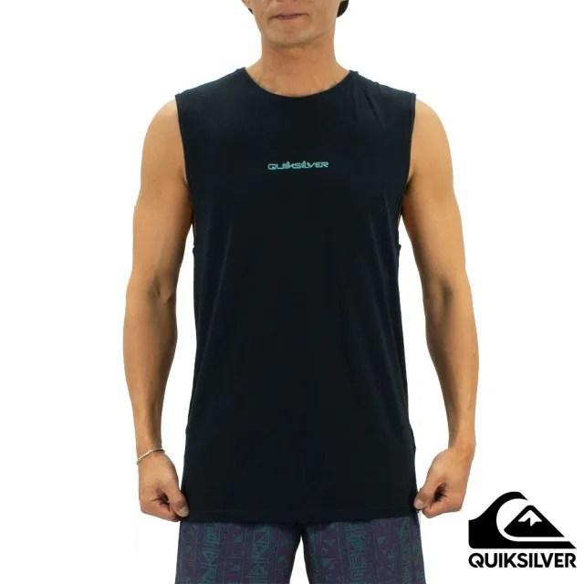 【Quiksilver】男款 男裝 背心 RETRO BEACH MUSCLE(黑色)