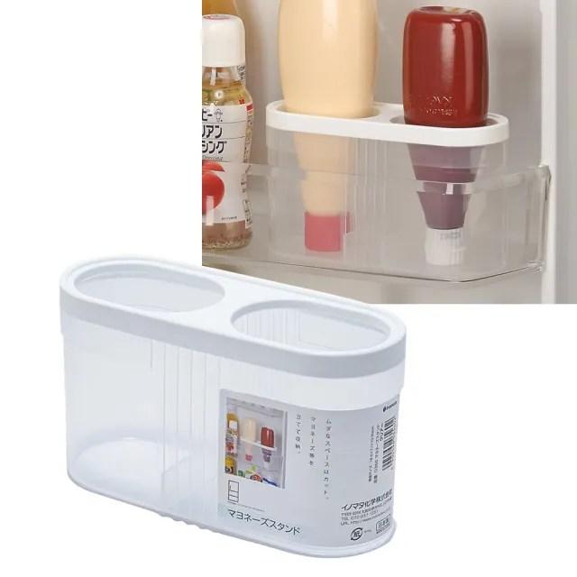 【日本inomata】冰箱沙拉醬瓶收納盒