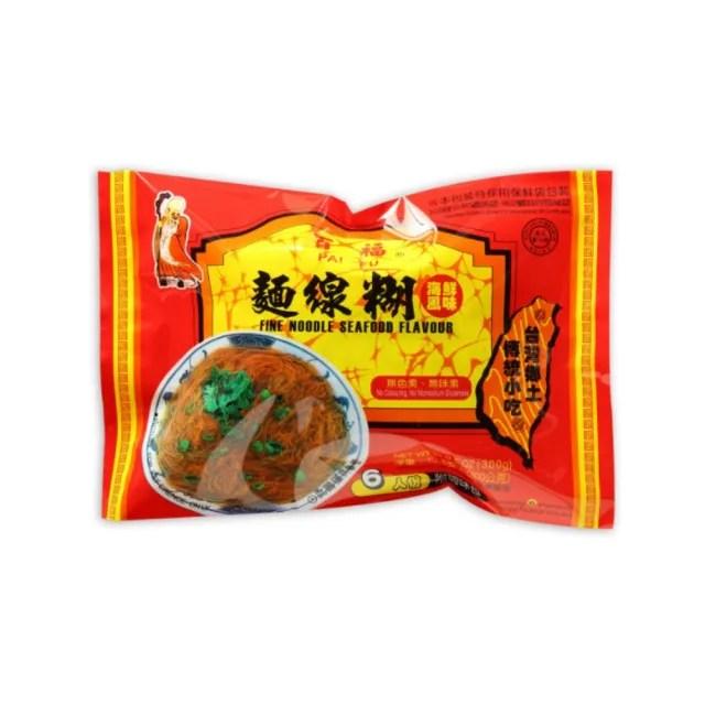 【百福系列】海鮮風味蚵仔麵線糊(300公克/包)