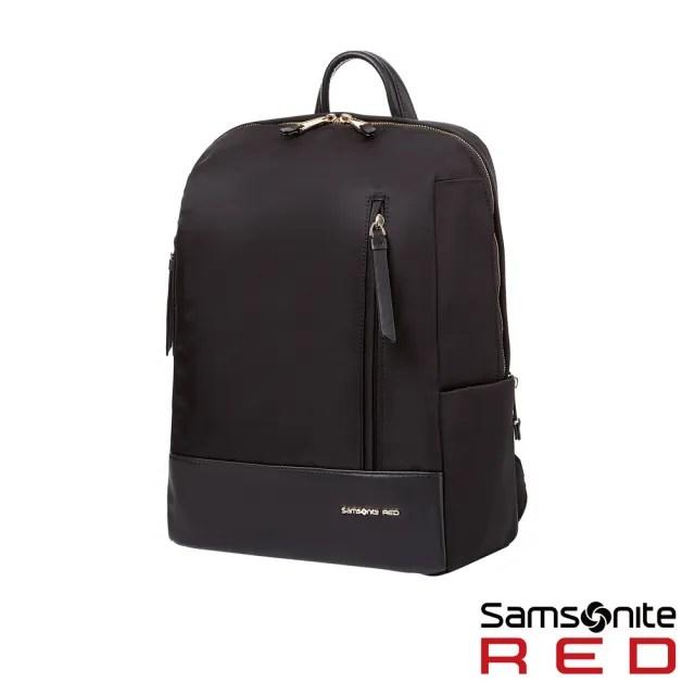 【Samsonite RED】SEROL 超輕量尼龍女性筆電後背包13 黑(GS8)