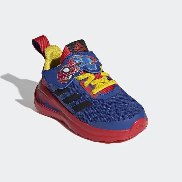 【adidas官方旗艦館】童鞋 MARVEL SPIDER-MAN FORTARUN SUPER HERO 跑鞋 運動鞋 男童/女童(FY1656)