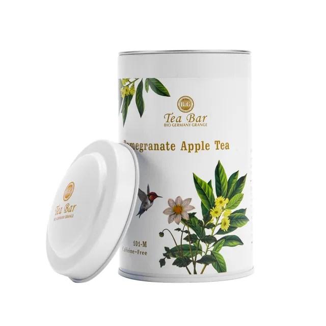 【B&G】白玉蘋果茶 中瓶(130g 茶葉散茶水果茶)