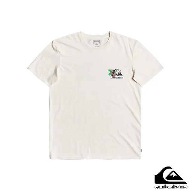 【Quiksilver】男款 男裝 T恤  INFORMAL DISCO SS(白色)