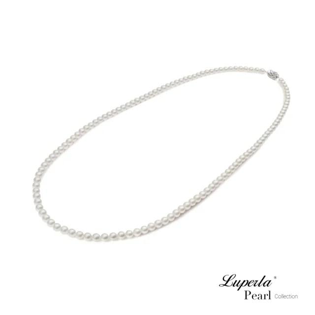 【大東山珠寶】專櫃經典長款 AKOYA日本海水珍珠 80cm長鍊項鍊(日本Akoya珍珠)
