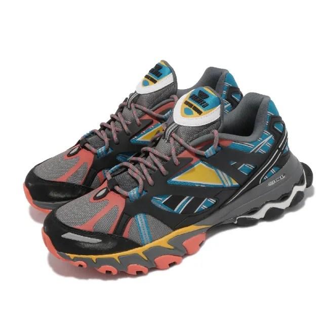 【REEBOK】越野鞋 DMX Trail Shadow 男鞋 戶外運動 舒適 避震 登山 球鞋 穿搭 灰 黑(EF8740)