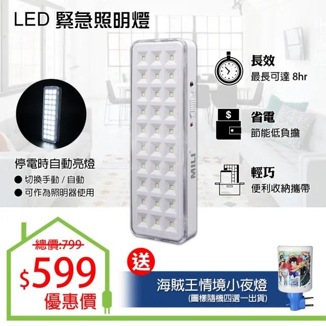 【朝日光電】LED緊急照明燈-兩段式10W(LED緊急照明燈)