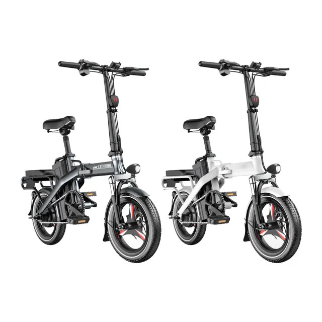 【iFREEGO】F5電動自行車100公里版 電動續航力100公里 電助力續航力高達130公里(電動車 自行車)