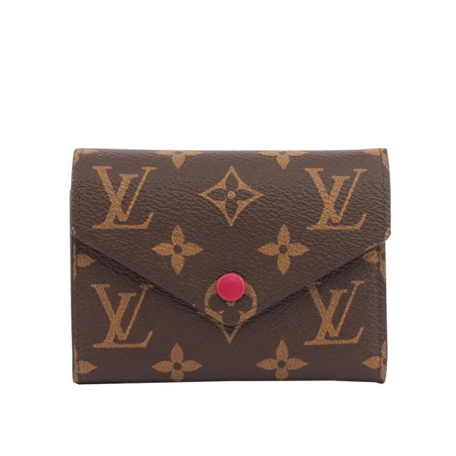 【Louis Vuitton 路易威登】Monogram VICTORINE三折短夾(M41938)
