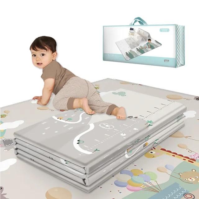 【JoyNa】寶寶爬行墊 防水遊戲墊 防撞地墊 野餐墊(180*200特大)