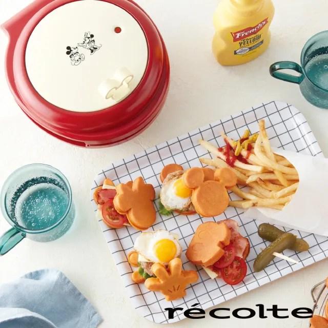 【recolte 麗克特】Smlie baker微笑鬆餅機 迪士尼米奇系列(RSM-1)